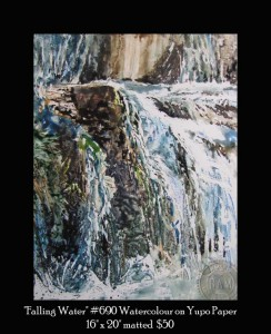 Waterfalls-on-Yupo-Paper