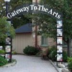 Gateway To The Arts Archway by David Robertson